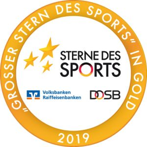 goldener Stern des Sports